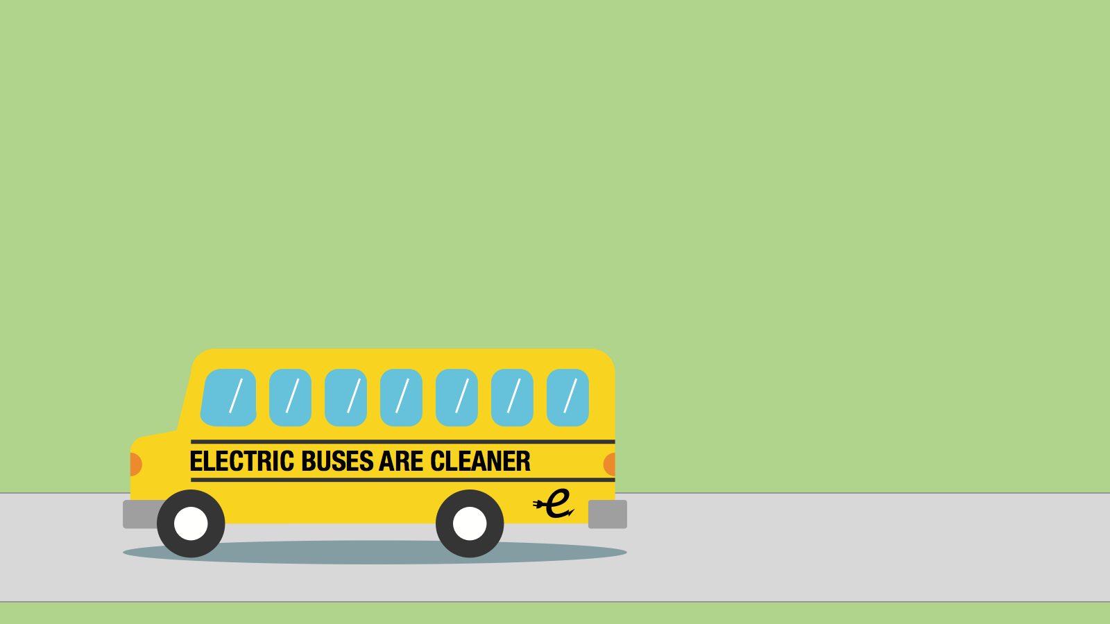 <h3>BENEFITS OF ELECTRIC BUSES</h3><p>Electric buses don't emit any tailpipe pollution, eliminating exhaust that is linked to asthma attacks, respiratory illness and cancer. </p>